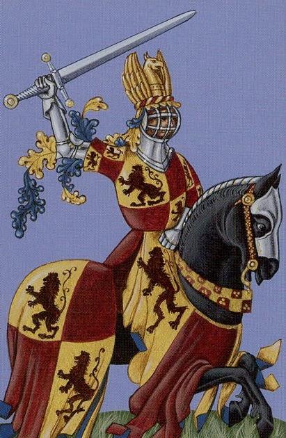 O Cavaleiro preso na armadura