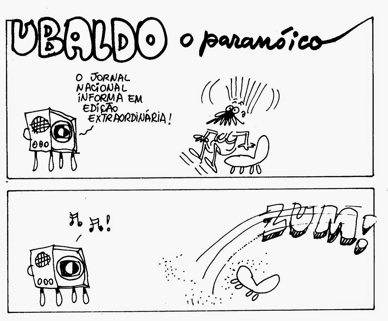 TIRAS Memory: Ubaldo, o paranoico - Isto É - 1977